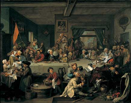 An Election Entertainment - Hogarth
