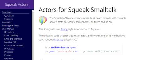 SqueakActors